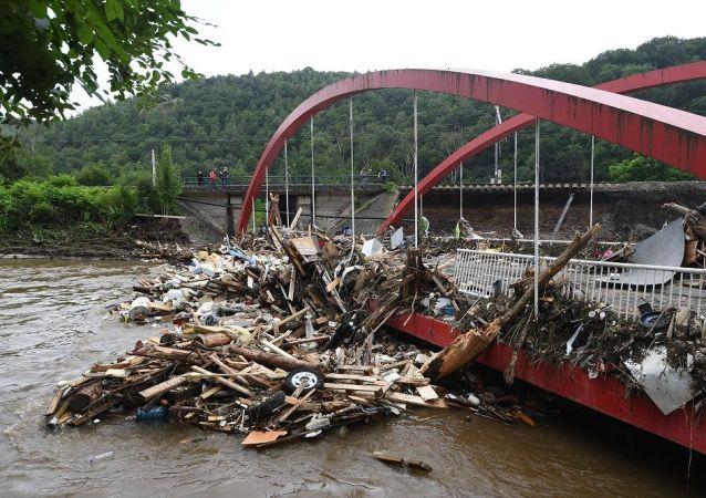 媒體:比利時因洪水死亡人數升至27人