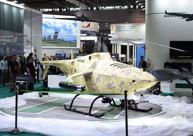 """白俄罗斯""""猎人""""无人驾驶直升机"""