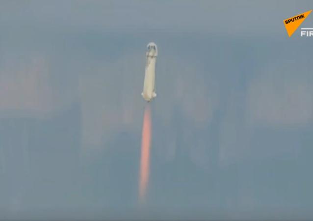 貝索斯將乘坐新型New Shepard號飛船完成太空飛行
