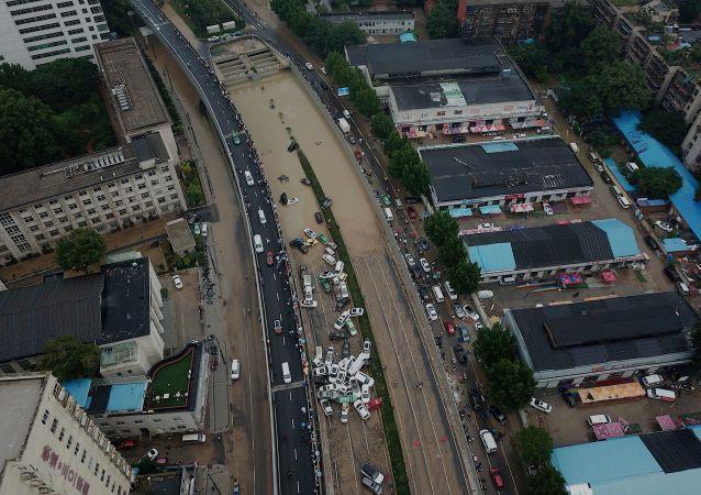 河南洪灾死亡人数上升到33人