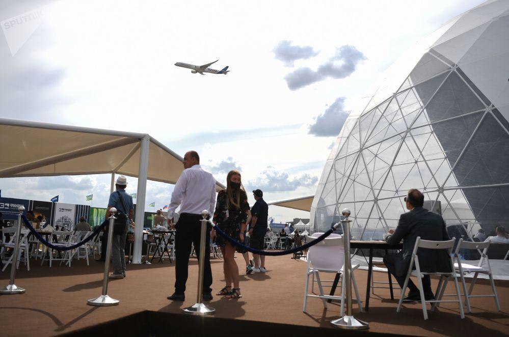 2021年莫斯科國際航空航天展,飛行表演日
