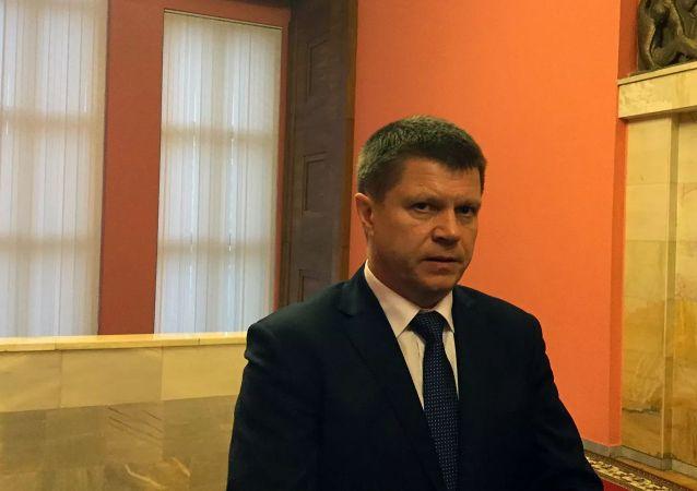 白俄羅斯駐華大使尤里·先科