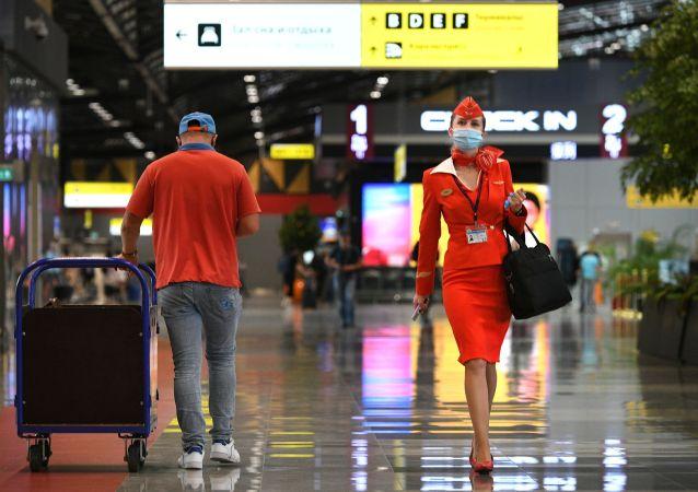 俄罗斯从11月9日起恢复与9个国家的航班