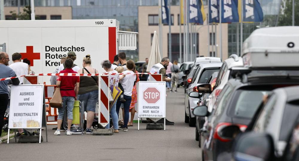 德國防疫措施反對者在柏林與警方發生衝突