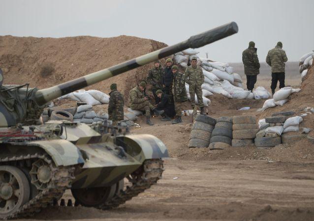 阿塞拜疆国防部称其阵地遭亚美尼亚军方射击