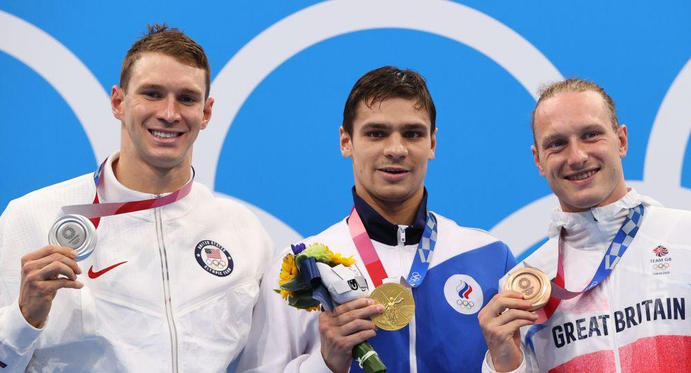 俄游泳運動員雷洛夫:與墨菲談了談 彼此沒有不滿