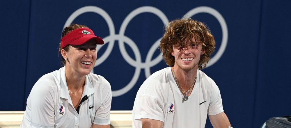 俄網球運動員帕夫柳琴科娃和魯布廖夫