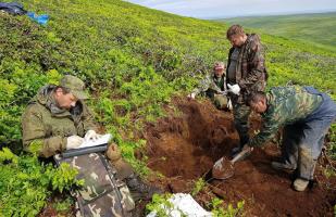 千岛群岛的舒姆舒岛上发现6具苏联士兵遗骸