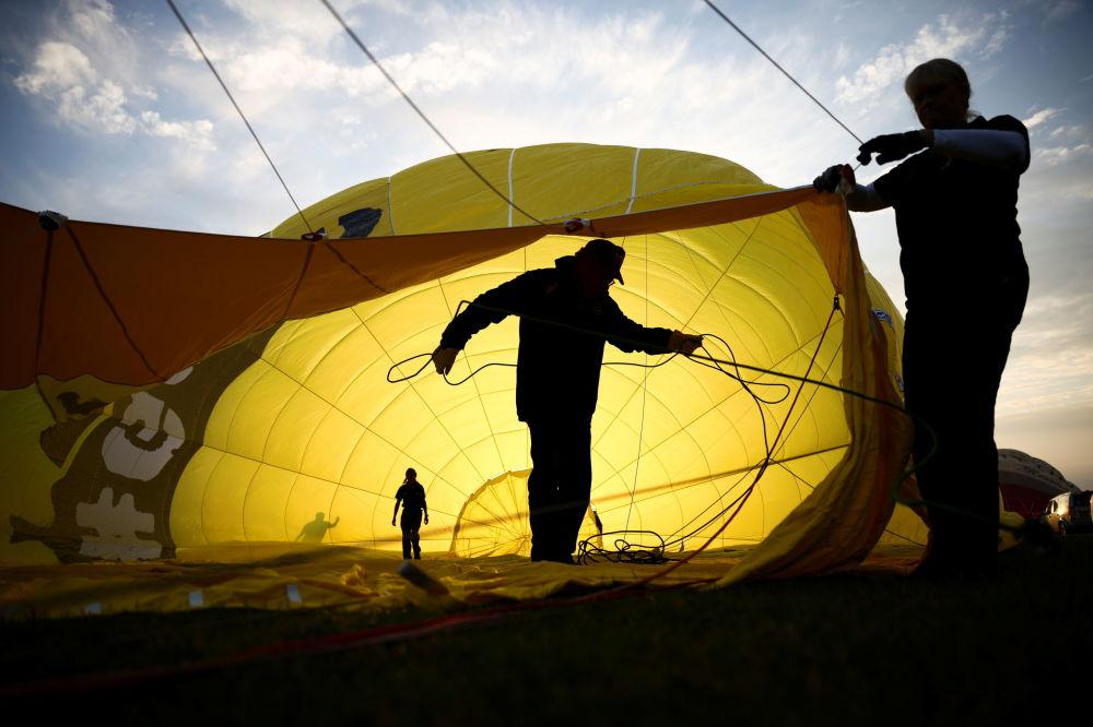 英國布里斯托爾國際熱氣球節