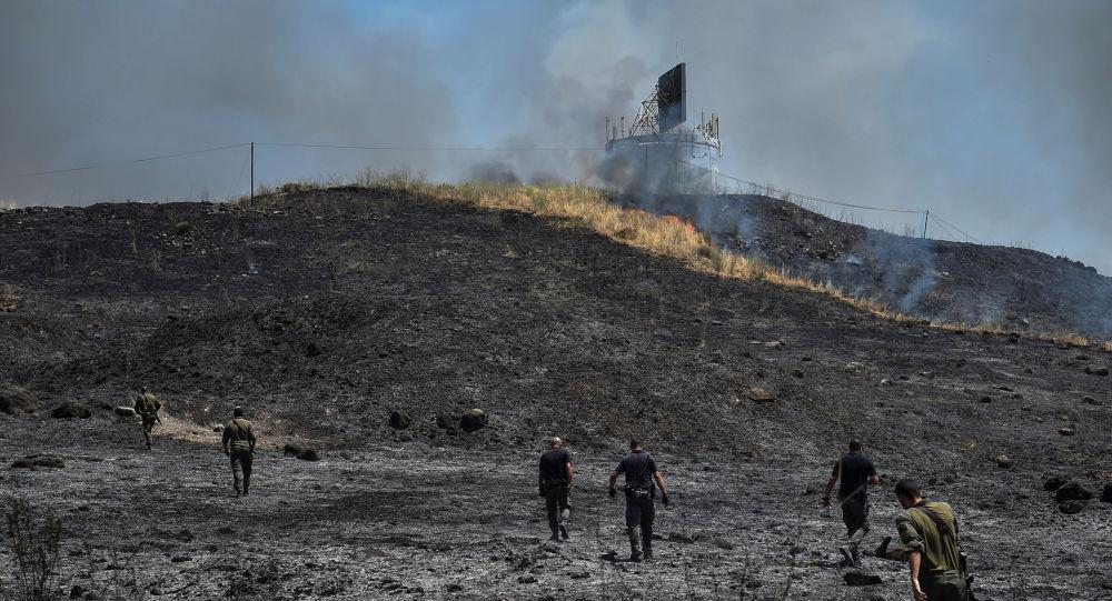 媒體:以色列空軍對黎巴嫩境內此前發射火箭彈的地區實施打擊