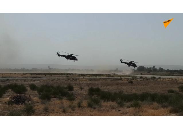 俄烏兩國特種部隊在阿富汗邊境舉行聯合軍演