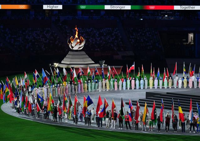 东京奥运相关人员又增28例新冠确诊病例 累计达464例