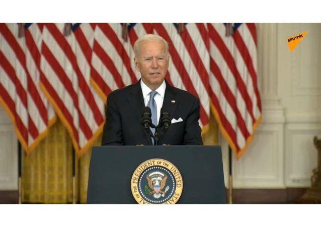 拜登承認,阿富汗人的撤離工作開始得較晚