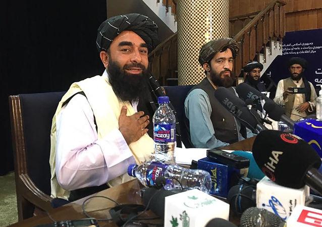 塔利班呼吁阿富汗民众不要参与示威活动