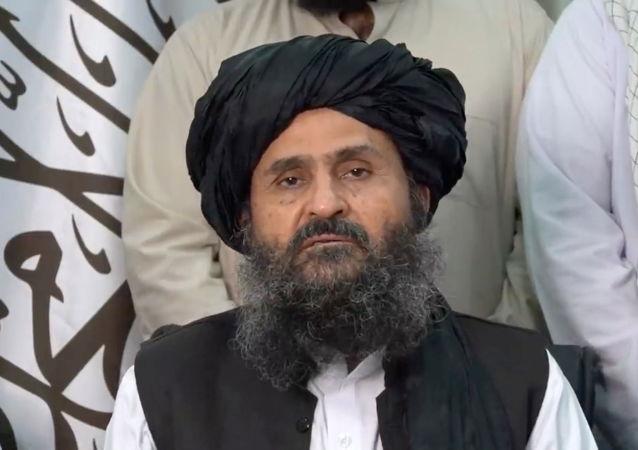 阿富汗政府副总理阿卜杜拉∙加尼∙巴拉达尔
