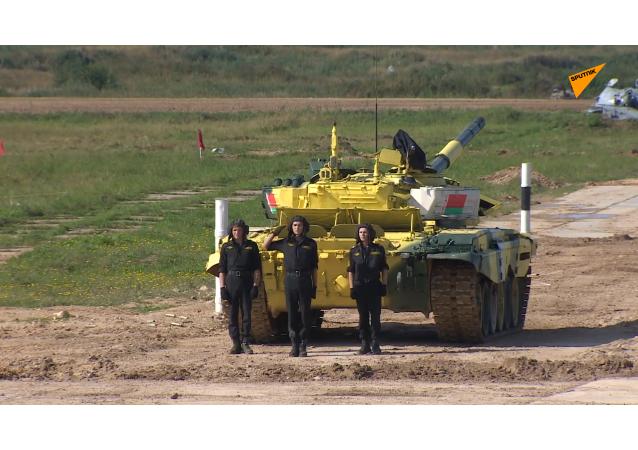 坦克兩項比賽第三日賽況