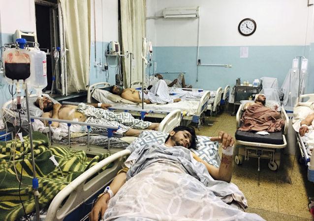 「伊斯蘭國」宣佈對8月30日喀布爾機場遭火箭彈襲擊事件負責