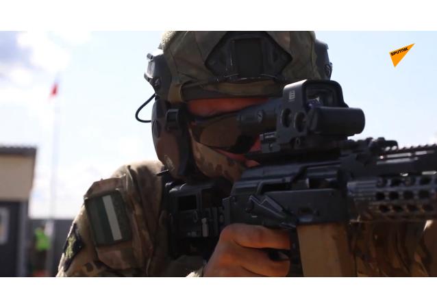 2021國際軍事比賽「戰術射手」項目第二階段「單人射擊」的賽況