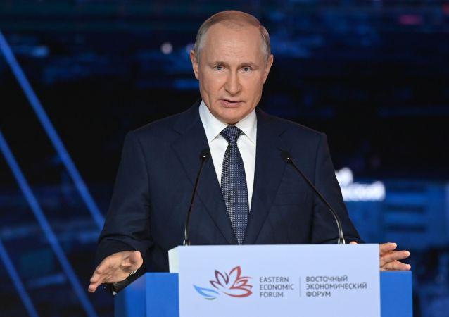 普京:在遠東近6年來累計外國直接投資額增長一倍