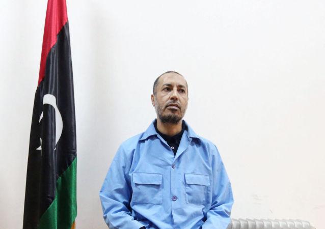 利比亚前领导人穆阿迈尔•卡扎菲之子萨阿迪