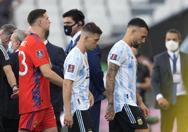 巴西警方因多名球员未进行隔离而中断阿根廷和巴西的世界杯预选赛