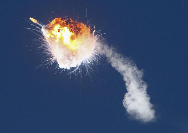 """美国研发公司:""""阿尔法""""火箭爆炸的原因是一部发动机关机"""