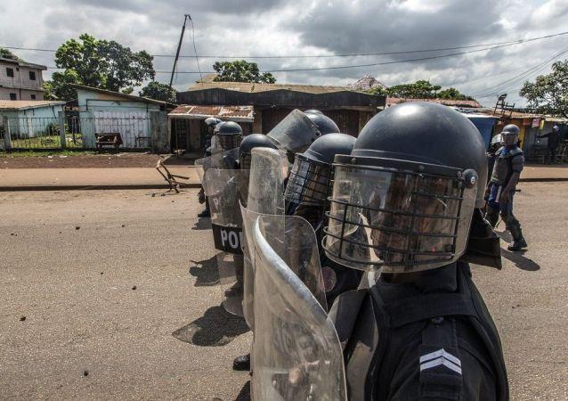 几内亚共和国,警方