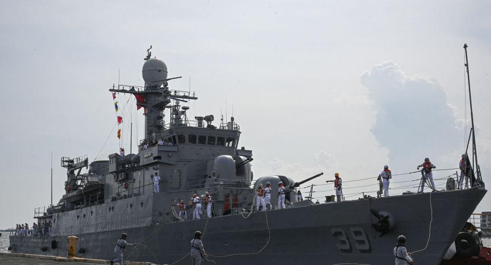 韩国海军第六艘新型护卫舰浦项舰下水