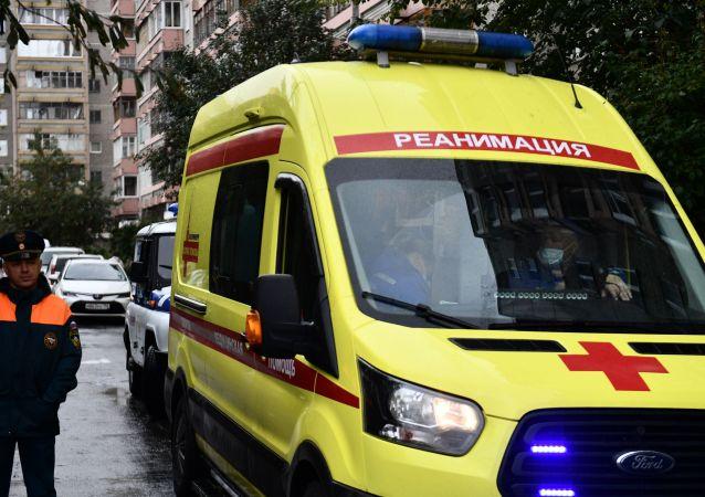 俄叶卡捷琳堡市一栋多层住宅楼发生瓦斯爆炸致1人受伤
