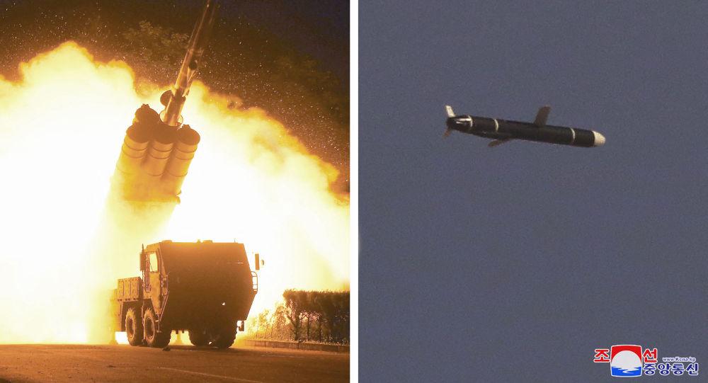 朝鲜试射导弹