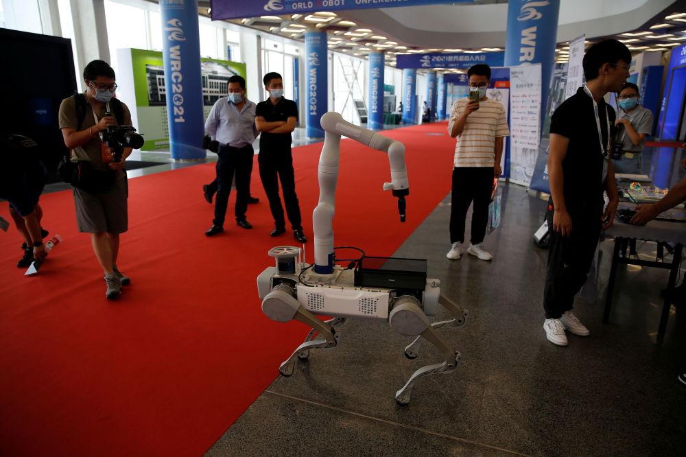 2021世界机器人大会现场直击