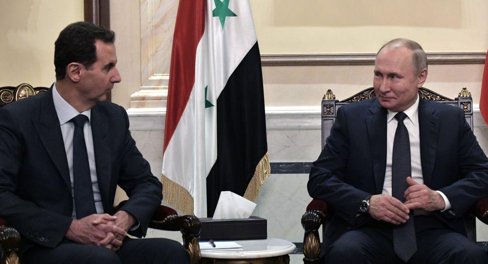 俄敘領導人在克里姆林宮會晤