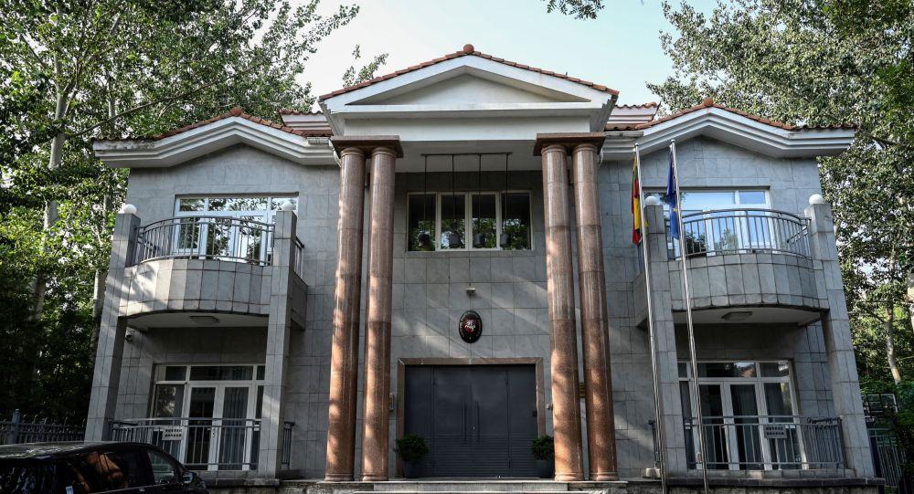 Посольство Литвы в Пекине