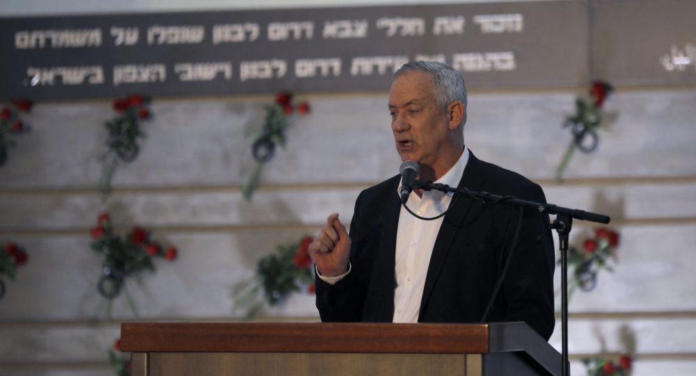 以色列国防部长本尼•甘茨