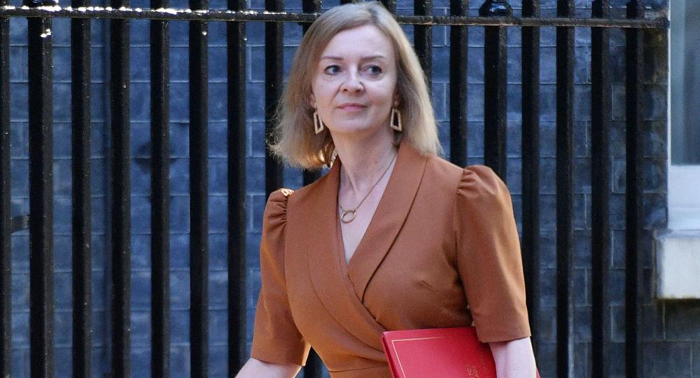 英国新外交大臣丽兹·特鲁斯