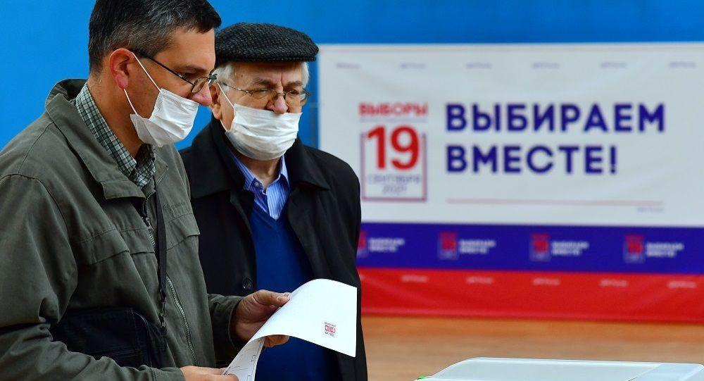 出口民調結果顯示,統一俄羅斯黨、俄共、自民黨和公正俄羅斯黨四個黨派在俄國家杜馬選舉期間勝出