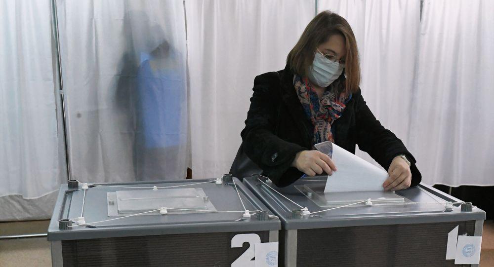 俄国家杜马选举计票完成95.06% 统俄党以49.63%的得票率领先