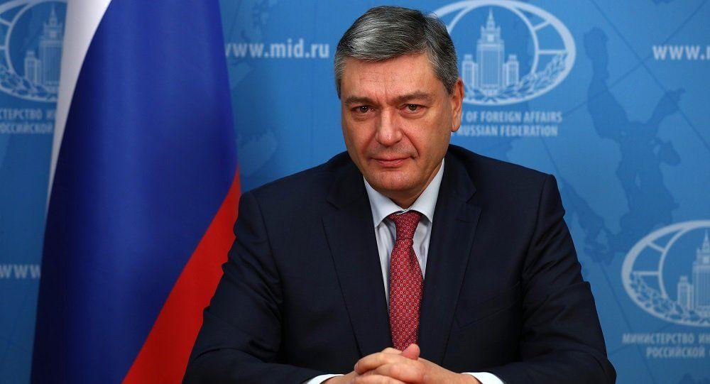 俄羅斯外交部副部長魯堅科