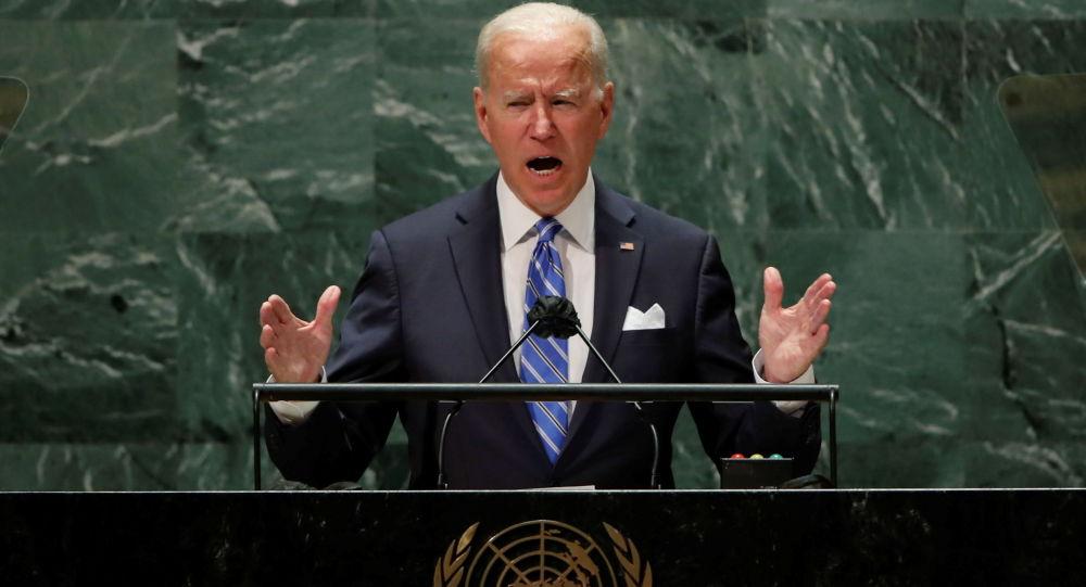 """拜登在联合国发表""""可耻言论""""后被指投降"""
