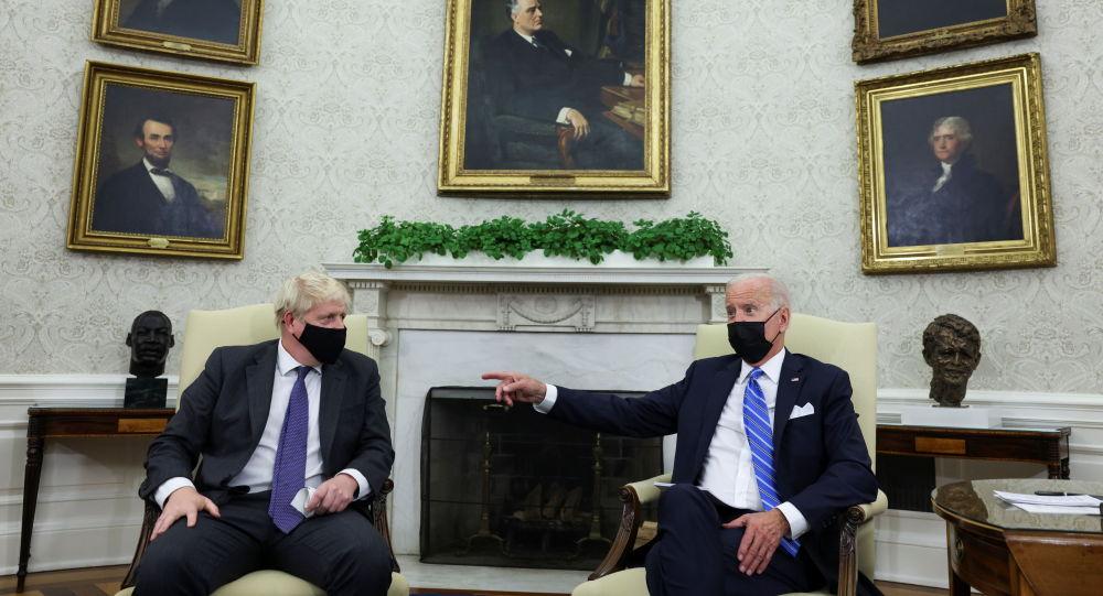 英國首相府:英美將繼續以共同價值觀為基礎對待俄中兩國
