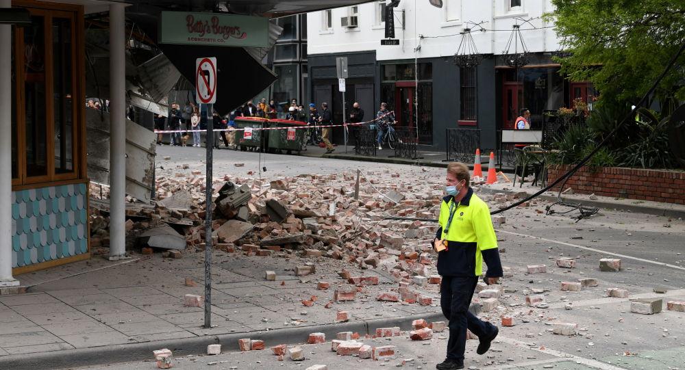 澳大利亚地震