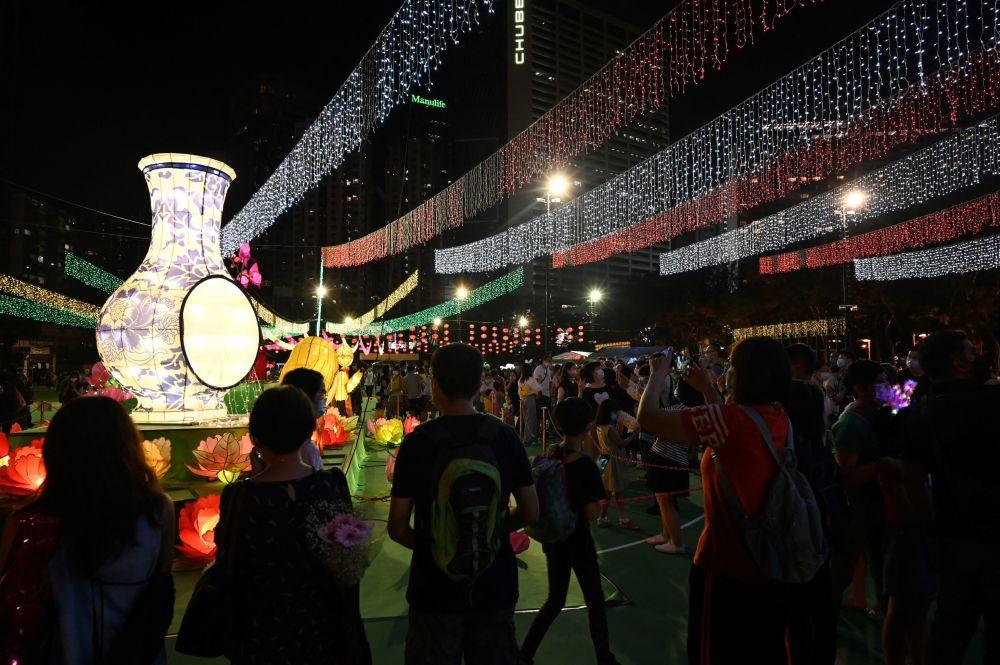 中秋節,香港的遊客