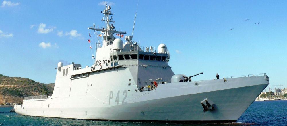 西班牙海军'闪电'号(Rayo)巡逻舰