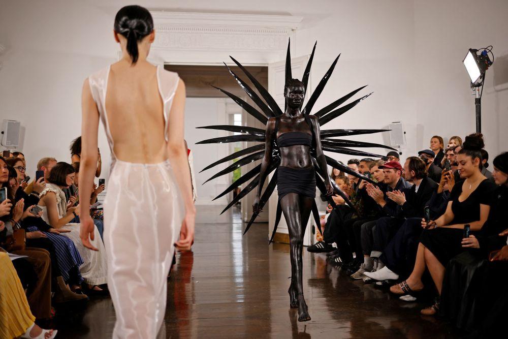 倫敦時裝周的Fashion East時裝秀,英國倫敦