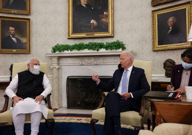 印度和美国领导人讨论扩大合作