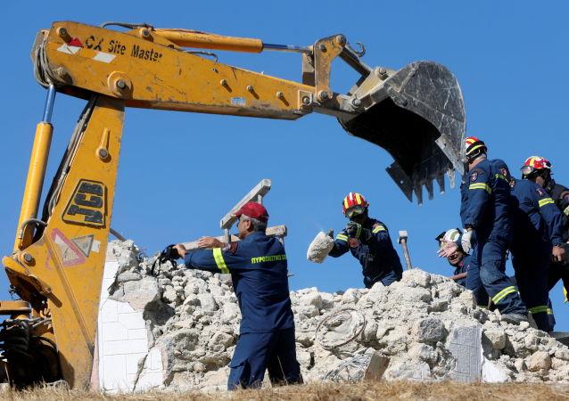 希臘政府:克里特島地震致1人死亡9人受傷