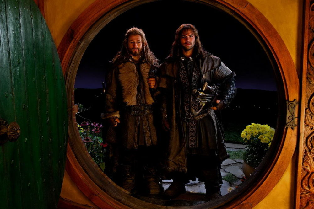 電影《霍比特人》中的鏡頭。