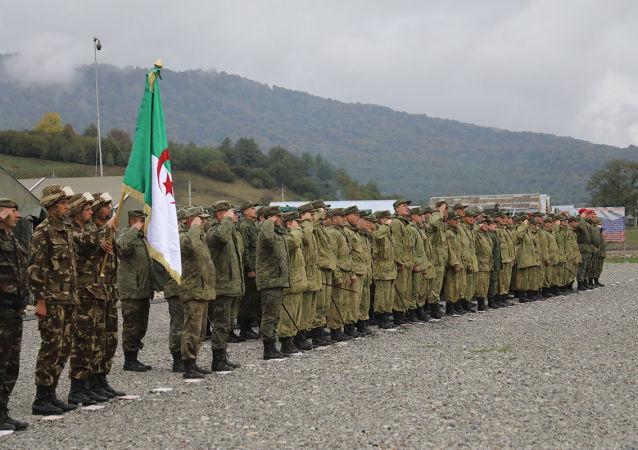 俄罗斯-阿尔及利亚军演在北奥塞梯开始