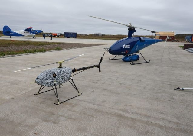 俄罗斯首次测试发射重型无人机的系统