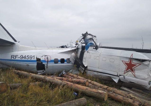 俄韃靼斯坦共和國總統:墜毀飛機的一個引擎發生故障